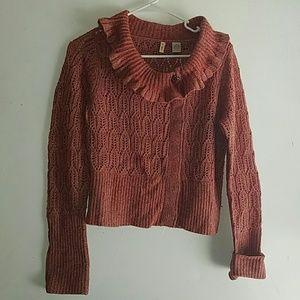 Dark Rustic Rose - •MOTH•   Anthropologie Sweater